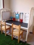 κατασκευές: παιδικό γραφείο, πετσετοθήκη μπάνιου…. κλπ